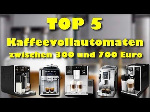 Die 5 besten Kaffeevollautomaten zwischen 300 und 700 Euro