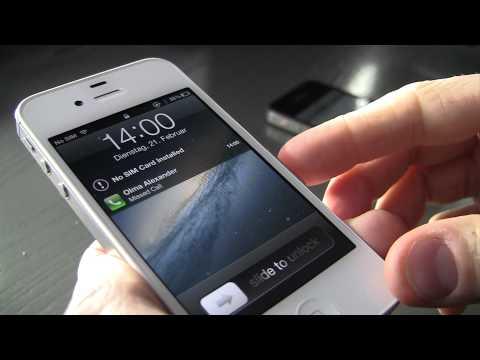 0 iOS 5.0.1 Sicherheitslücke: Passwortsperre durch SIM-Karten-Wechsel aushebeln [Video] Apple