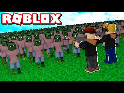 DESTROY 1,000,000 ZOMBIES In ROBLOX ZOMBIE ATTACK