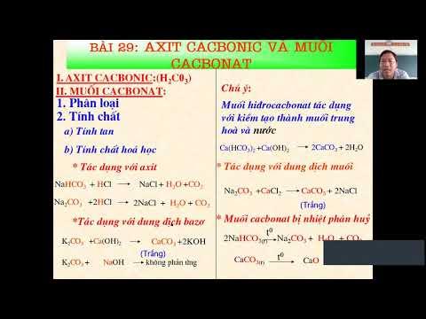 Bài giảng Hóa học 9, HK2 (Tuần 23)