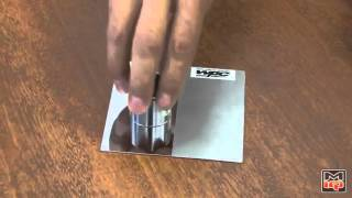 WPC Metal Surface Treatment Demo #2 of 2