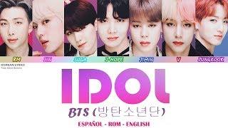 BTS - Idol Lyrics: Español - Rom - English