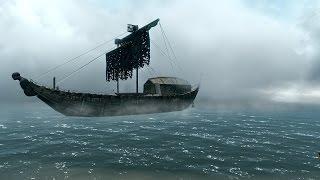 Skyrim: (МОД):Пираты Тихого Океана: Защита Древнего Свитка (#1)