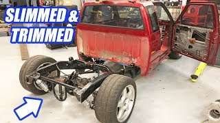 The AWD Twin Turbo S10 Leaps Closer To Completion In Building The Ultimate Truck Ep.5