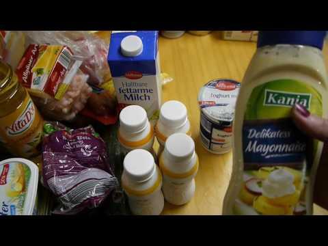 Стоимость продуктов в Германии - видеобзор