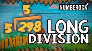 Long Division Song | 1-DIgit Divisors | 3rd Grade & 4th Grade