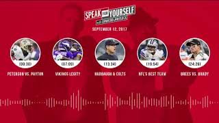 SPEAK FOR YOURSELF Audio Podcast (9.12.17) with Colin Cowherd, Jason Whitlock | SPEAK FOR YOURSELF