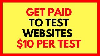 MAKE $10 PER TEST JUST BY TESTING WEBSITES WITH VALIDATELY (GET PAID FAST & EAST -2017)