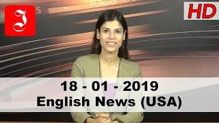 News English USA 18th Jan 2019