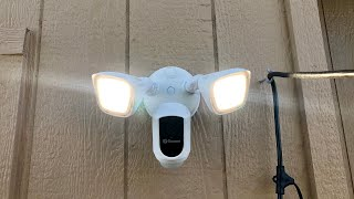 Swann Flood Light Security Camera Review