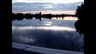 Юшкозеро в июльскую ночь.