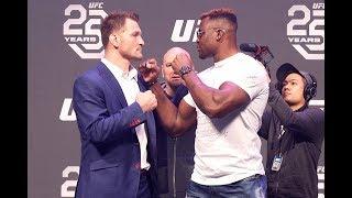 UFC 220 press conference highlights:  Miocic vs. Ngannou