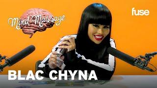 Blac Chyna tries ASMR