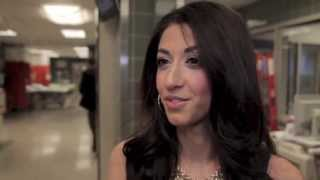 402 : The blue line - Behind the scenes Leyla from Luxy Hair