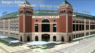 Baseball Stadium Tour in Google Earth