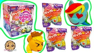 Full Box of 24 My Little Pony MyMojis Surprise Blind Bags |  MLP Ball Heads Toy Unboxing Video