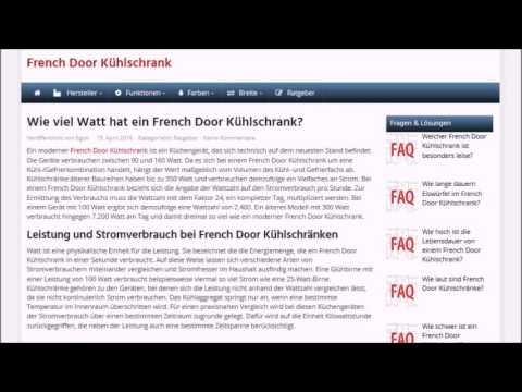 Wie viel Watt hat ein French Door Kühlschrank | french-door-kuehlschrank.de