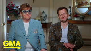 Elton John Reveals Emotional Message Behind 'rocketman' Film  Gma