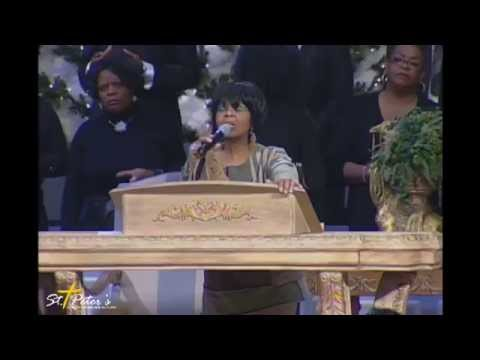 vanessa bell armstrong brings in the christmas season st peters church and world outreach