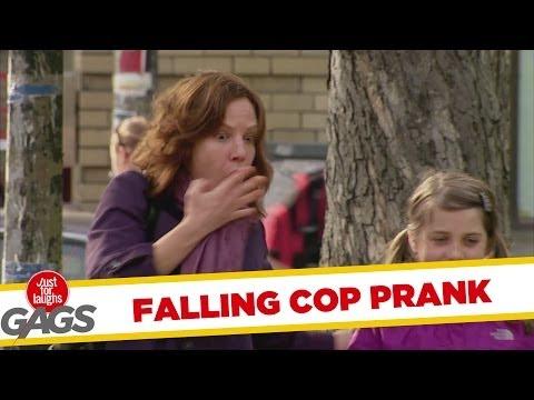 השוטר הנעלם - מתיחה מצחיקה!