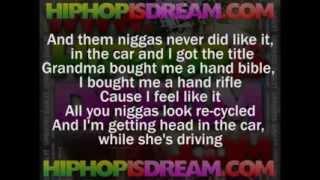 ▶ Fabolous ft  2 Chainz   When I Feel Like It LYRICS   YouTube