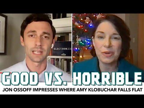 Jon Ossoff Impresses Where Amy Klobuchar Falls Flat