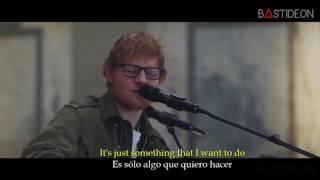 Ed Sheeran  How Would You Feel Paean Sub Español + Lyrics