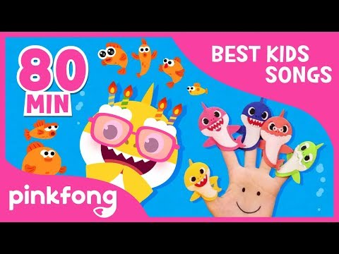 If Sharks Are Happy and more | +Compilation | Baby Shark | Pinkfong Songs for Children