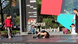 KTO B-Boy Freestyle Seoul May 2013 #6