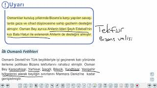 Eğitim Vadisi TYT Tarih 8.Föy Yerleşme ve Devletleşme Sürecinde Selçuklu Türkiyesi 2 Konu Anlatım Videoları