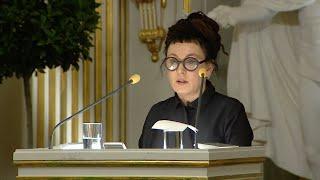 Film do artykułu: Olga Tokarczuk we wtorek,...