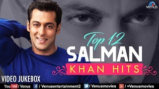 Top 12 Salman Khan Hits | Best Bollywood Romantic Songs | VIDEO JUKEBOX | 90's Best Hindi Songs