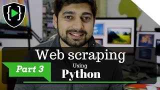 Web scraping in python finding all links