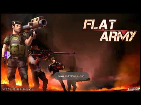 Взлом игры Flat Army (root)
