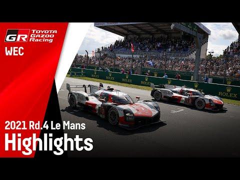 ル・マン24時間 ToyotaGazooRacingチームの決勝レースのハイライト動画
