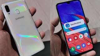 Samsung Galaxy A40 e A70, Anteprima video