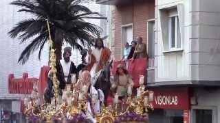preview picture of video 'LA BORRIQUITA DOMINGO DE RAMOS 13 DE ABRIL DE 2014 HUELVA'