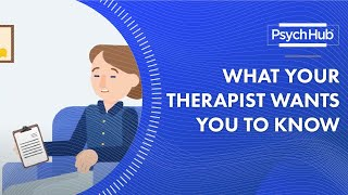 Mental Health Treatment: 5 Things Your Therapist Wants You to Know