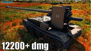 Grille 15 ТАНКИСТ СНАЙПЕР 🌟 12200+ dmg 🌟 World of Tanks лучший бой на пт 10