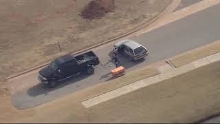 Highlights of high speed chase near Oklahoma City