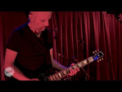 """Moby performing """"This Wild Darkness"""" live on KCRW"""