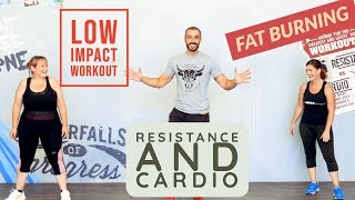 Low Impact Cardio AND Resistance Workout For Beginners