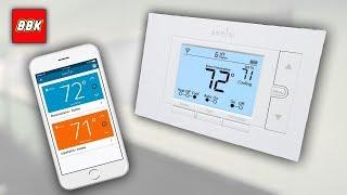Emerson Sensi Wi-Fi Thermostat for Smart Home Installation Set Up DIY ST55 Alexa Smart Home