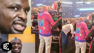 """COWARD!"" - WHYTE BASHES TYSON FURY FOR WATCHING BILLY JOE SAUNDERS DAD GET BOWLED OVER! 