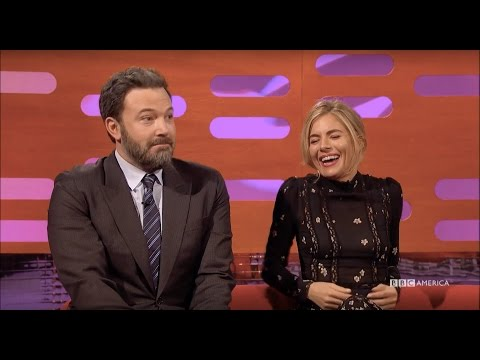 Ben Affleck & Sienna Miller Had A LOT of Fake Sex - The Graham Norton Show