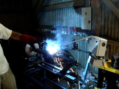 Tecnica Industrial Dispositivo para soldar automatico