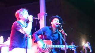 "The Trews ""Yearning"" with ""Pocahontas"" (Neil Young cover) Live Oakville August 19 2017"