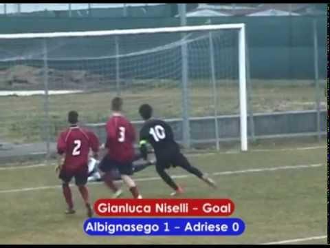 Preview video ALBIGNASEGO CALCIO - ADRIESE 4-1 (JUNIORES REGIONALI 21/02/2015)