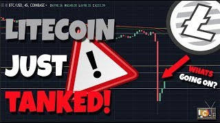 MUST WATCH: LITECOIN IS DROPPING EXPLAINED. ARE YOU READY TO BUY BACK IN?