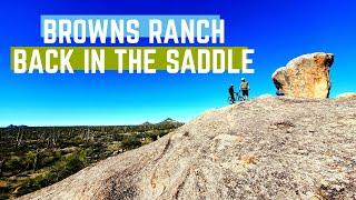 Brown's Ranch   Post crash, the knee still works!   02/01/2020